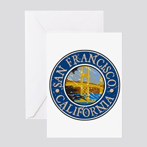 San Francisco California Greeting Card