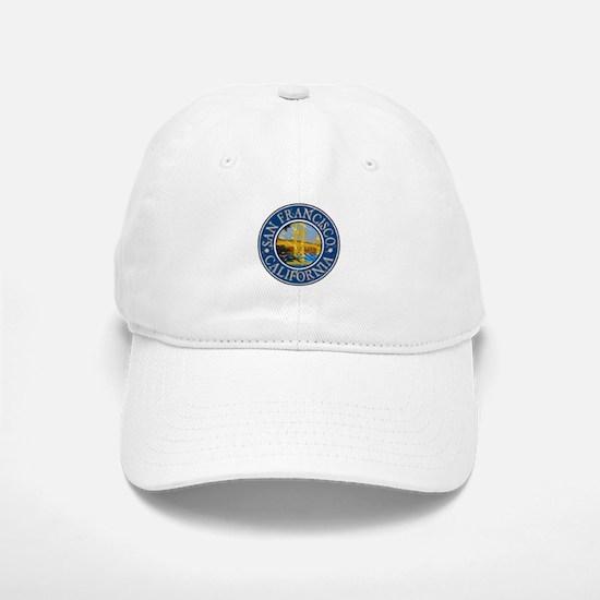 San Francisco California Baseball Baseball Cap
