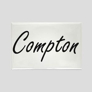 Compton surname artistic design Magnets