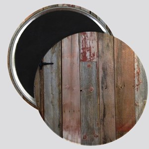 rustic western barn wood Magnet