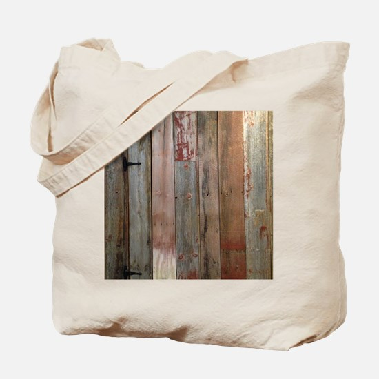 rustic western barn wood Tote Bag