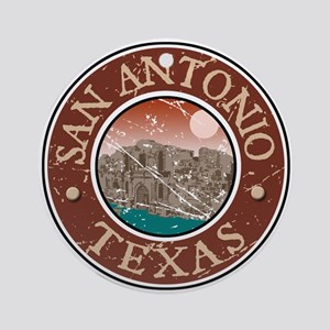 San Antonio Ornament (Round)