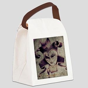 gothic grunge renaissance joker Canvas Lunch Bag
