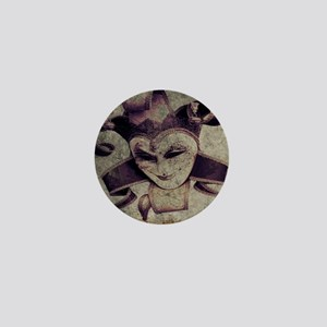 gothic grunge renaissance joker Mini Button