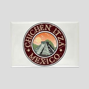Chichen Itza, Mexico Rectangle Magnet