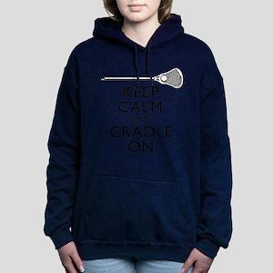 Keep Calm And Cradle On Sweatshirt