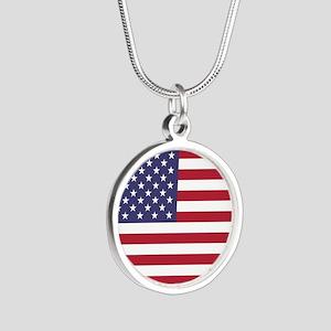 USA flag authentic version Necklaces
