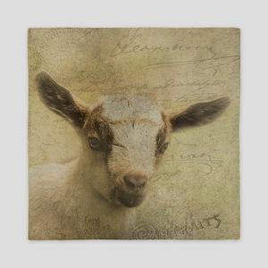 Baby Goat Socke Queen Duvet