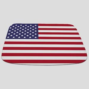 USA flag authentic version Bathmat