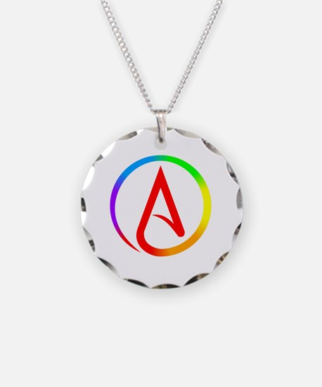 Cute Secular humanist Necklace