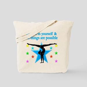INSPIRED GYMNAST Tote Bag