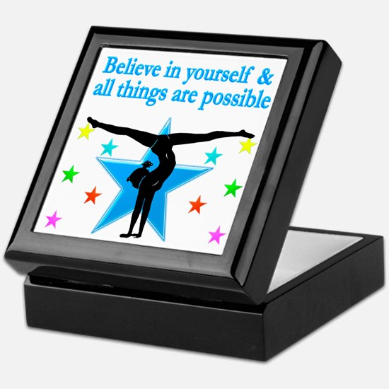 INSPIRED GYMNAST Keepsake Box
