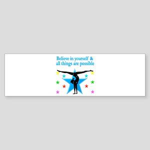 INSPIRED GYMNAST Sticker (Bumper)