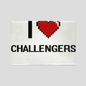 I love Challengers Digitial Design Magnets