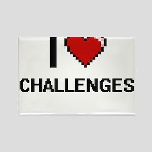 I love Challenges Digitial Design Magnets