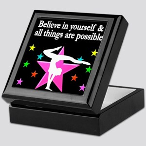 GYMNAST DREAMS Keepsake Box