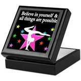 Gymnastics Keepsake Boxes