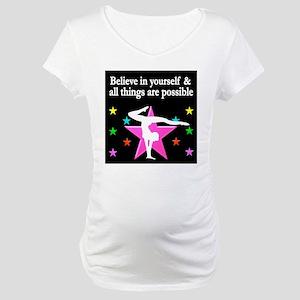 GYMNAST DREAMS Maternity T-Shirt
