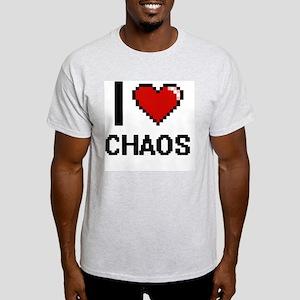 I love Chaos Digitial Design T-Shirt