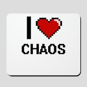I love Chaos Digitial Design Mousepad