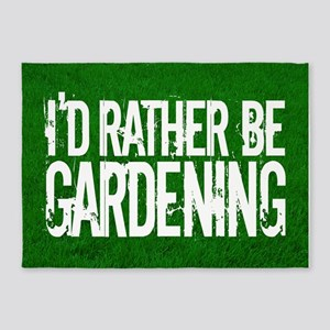 Gardening 5'x7'Area Rug
