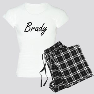 Brady surname artistic desi Women's Light Pajamas