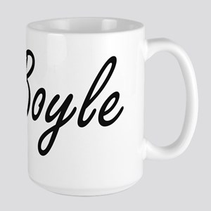 Boyle surname artistic design Mugs