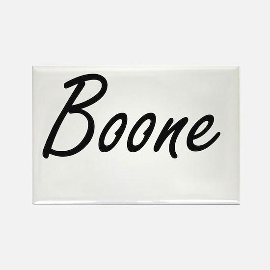 Boone surname artistic design Magnets
