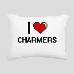 I love Charmers Digitial Rectangular Canvas Pillow