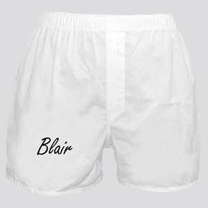 Blair surname artistic design Boxer Shorts