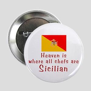"Sicilian Chefs 2.25"" Button (10 pack)"