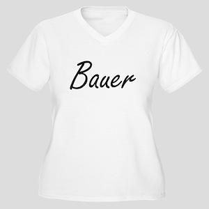 Bauer surname artistic design Plus Size T-Shirt