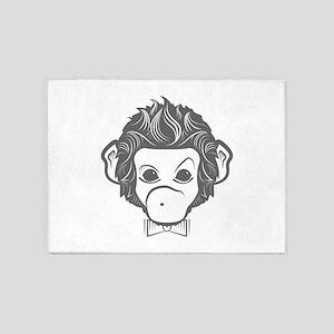 identica monkey by asyrum design 5'x7'Area Rug