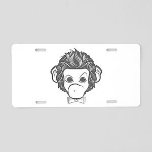 identica monkey by asyrum design Aluminum License