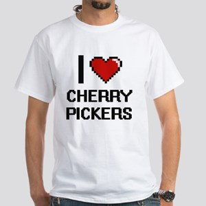 I love Cherry Pickers Digitial Design T-Shirt