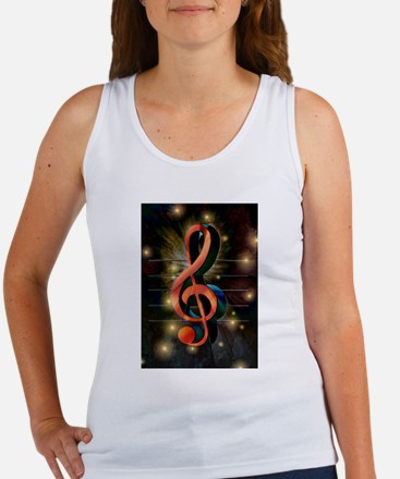 Clef Tank Top