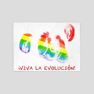 viva la evolucion kissing chimpanzees by asyrum 5'