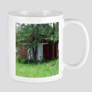 Old Country Red Barn Mugs