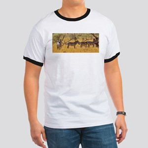 Wild Zebra Animal T-Shirt
