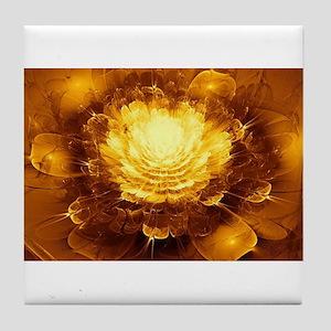 Golden Art Tile Coaster