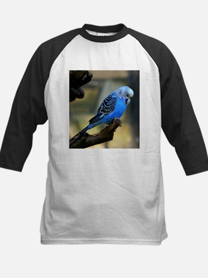 Blue Budgie Baseball Jersey