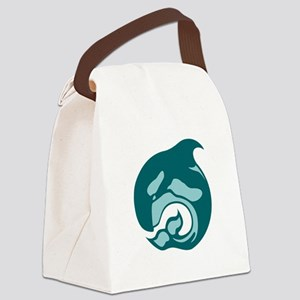 killer whale by asyrum Canvas Lunch Bag