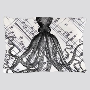 vintage nautical steampunk octopus Pillow Case