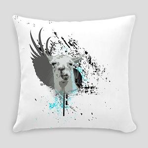 hi-fi llama Everyday Pillow
