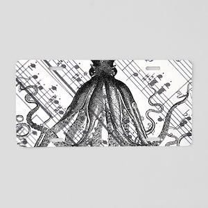 vintage nautical steampunk Aluminum License Plate