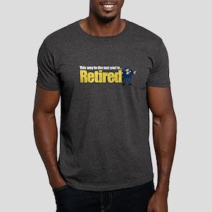 'Retirement Highway 3 :-)' Dark T-Shirt