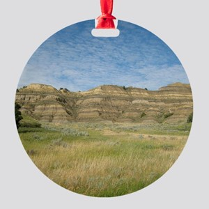 The Badlands Round Ornament