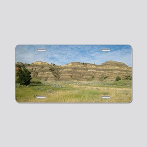 The Badlands Aluminum License Plate
