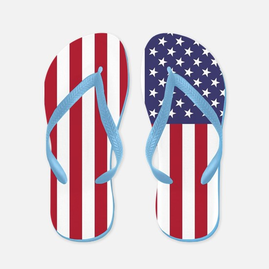USA flag - Authentic high quality versi Flip Flops
