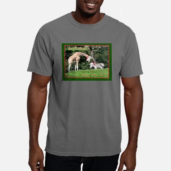 Helaine's Giraffe/Zebra Chris Ash Grey T-Shirt